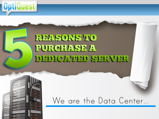 5 reasons to purchase a dedicated server